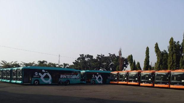 Mayasari Bakti bermitra dengan Transjakarta untuk pengadaan bus listrik