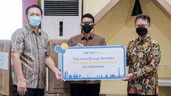 Sandiaga Serahkan Oksigen Konsentrator dari Agen Wisata Online ke Menkes
