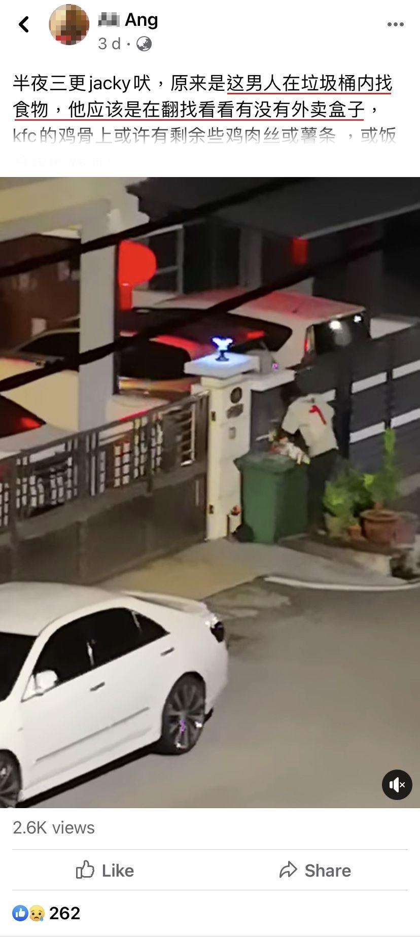 Miris! Pria Ini Diam-diam Bongkar Tempat Sampah demi Mencari Sisa Makanan