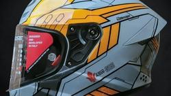 Tren Modifikasi Helm: Dari Replika Helm Pebalap MotoGP sampai Jejepangan