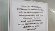 Relawan Galang Dana Bantu Lab PCR Unand yang Tak Dapat Anggaran Pemprov