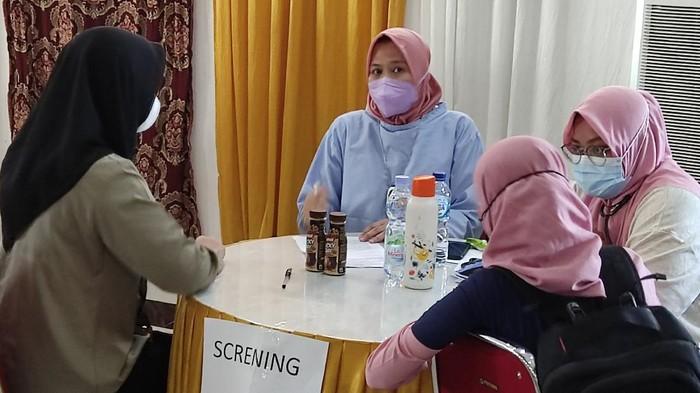Ribuan pelajar dan mahasiswa di Gowa ikut vaksinasi