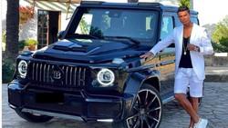 Ronaldo Pamer Brabus G-Class Seharga Rp 10 M Hadiah Ultah dari Pacar