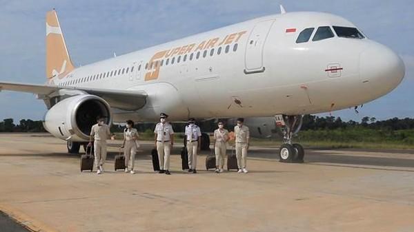 Mengusung tema Kenali Lebih Dekat SUPER Crew, maskapai Super Air Jet mengajak traveler untuk bersiap-siap merencanakan penerbangan mendatang (dok Super Air Jet)
