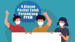 4 Alasan Peritel Tolak Perpanjangan PPKM