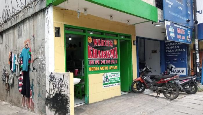 Warteg di Ciputat, Tangsel dipalak Karang Taruna Gadungan untuk Sumbangan 17 Agustus (Kadek/detikcom)