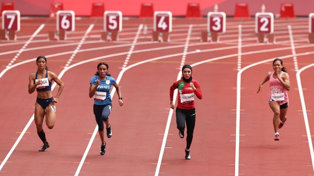 Aksi Para Atlet Wanita Iran Berlaga di Olimpiade Tokyo 2020