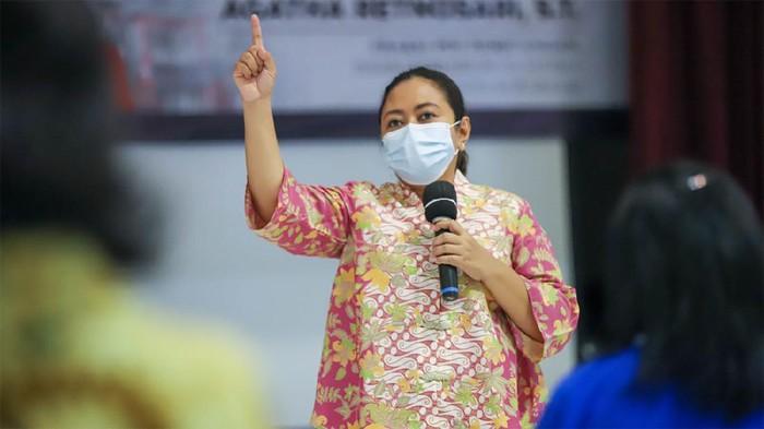 Anggota DPRD Provinsi Jatim dari Fraksi PDI Perjuangan, Agatha Retnosari