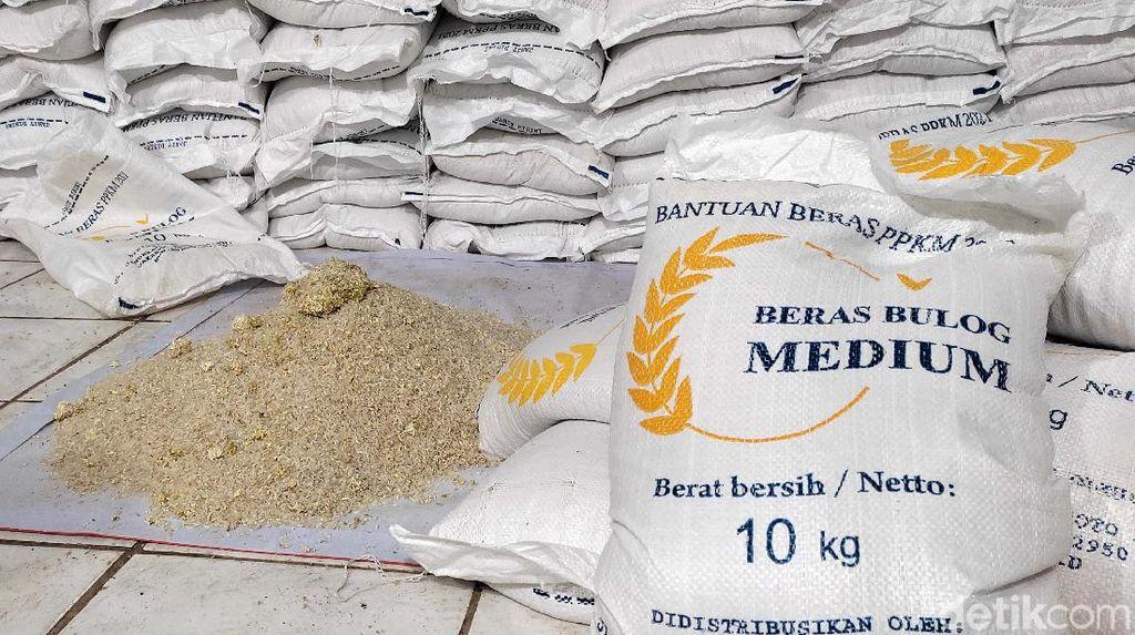 Heboh Beras Batu Bantuan PPKM di  Pandeglang, DPRD: Evaluasi!