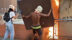 Bentrokan Pecah Saat Aksi Peringatan Satu Tahun Ledakan Beirut