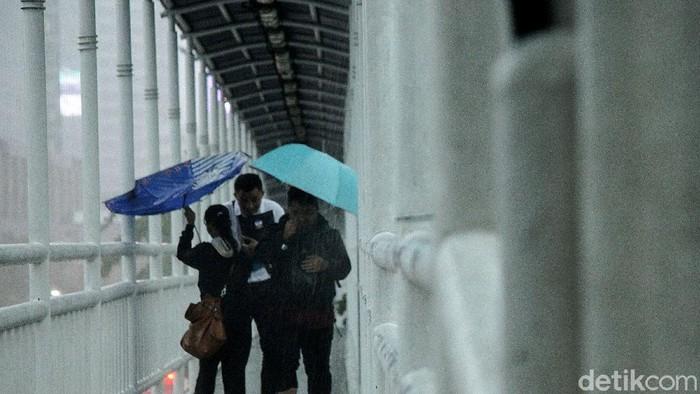 Cuaca hari ini Jakarta Pusat (Ilustrasi)