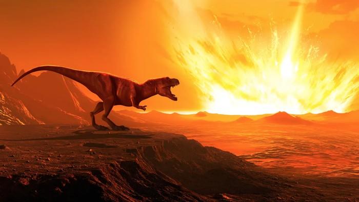 Dinosaurus tetap ada dan hidup berdampingan dengan manusia jika asteroid tak menghantam bumi?