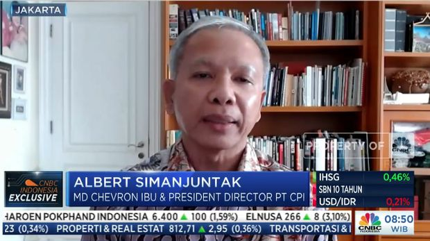 Director of Chevron IndoAsia Business Unit (IBU) and President Director of PT. Chevron Pacific Indonesia (PT CPI), Albert Simanjuntak