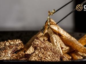 Yuk Kenalan dengan Emas yang Bisa Dimakan!
