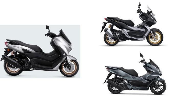 Harga Yamaha Nmax, Honda PCX, Honda ADV