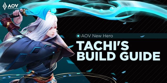 Ingin Jago Main Hero Tachi Arena of Valor? Ini Rekomendasi Build Item-nya