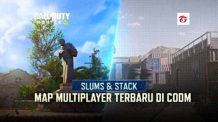 Intip Tampilan Map Baru di Season 6 Call of Duty: Mobile Slums dan Stack