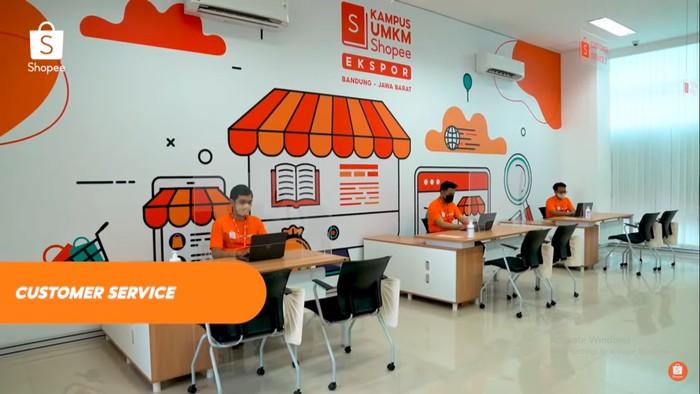 Kampus Ekspor Shopee di Bandung