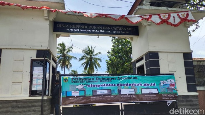 Kantor Dinas Kependudukan dan Catatan Sipil Cianjur