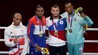 Kecewa Berat, Petinju Ini Ogah Kalungkan Perak di Olimpiade 2020