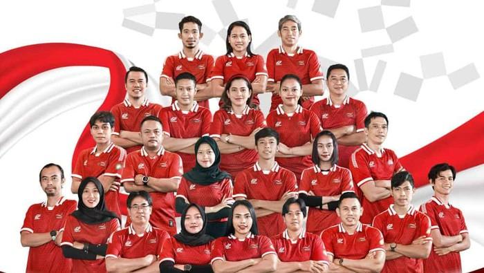 Kontingen Indonesia di Paralimpiade Tokyo 2020.