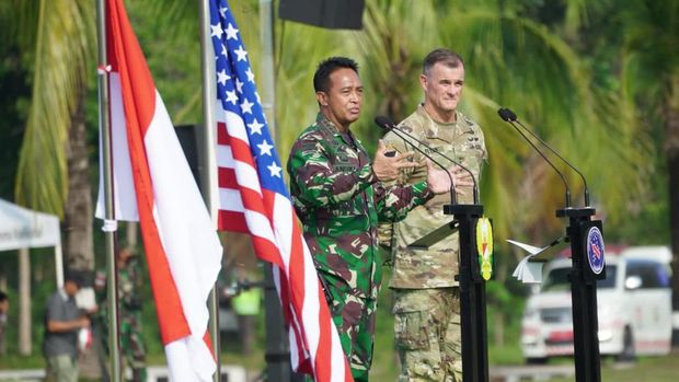 KSAD dan Jenderal Flynn gelar latihan bersama TNI AD dan US Army terbesar sepanjang sejarah kerja sama militer RI-AS