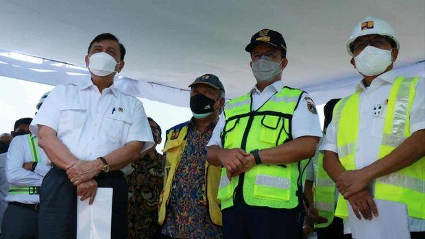 luhut anies basuki proyek anti banjir jakarta