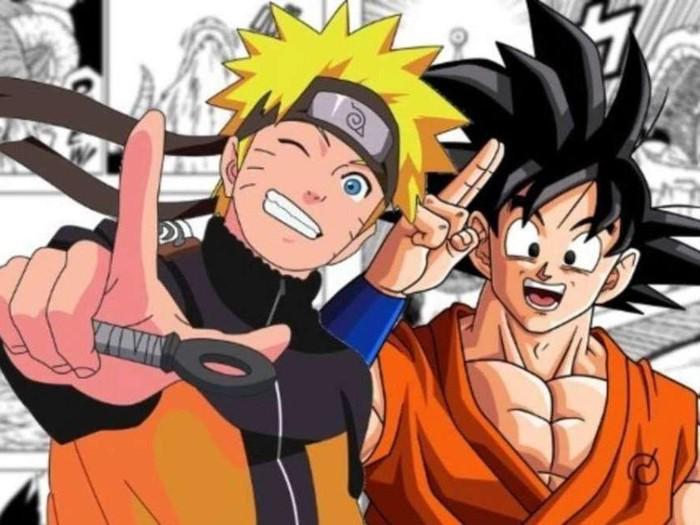 Naruto dan Dragon Ball