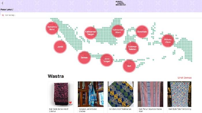 Pasar Lokal Rumah Digital Indonesia (Tangkapan layar situs Rumah Digital Indonesia)
