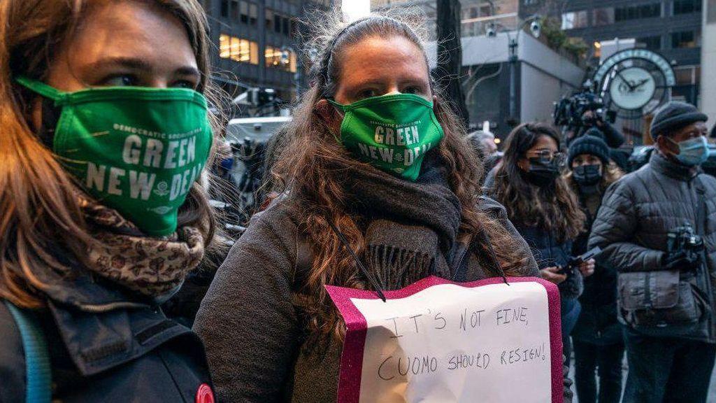 Kesaksian Para Perempuan Korban Pelecehan Seks Gubernur New York