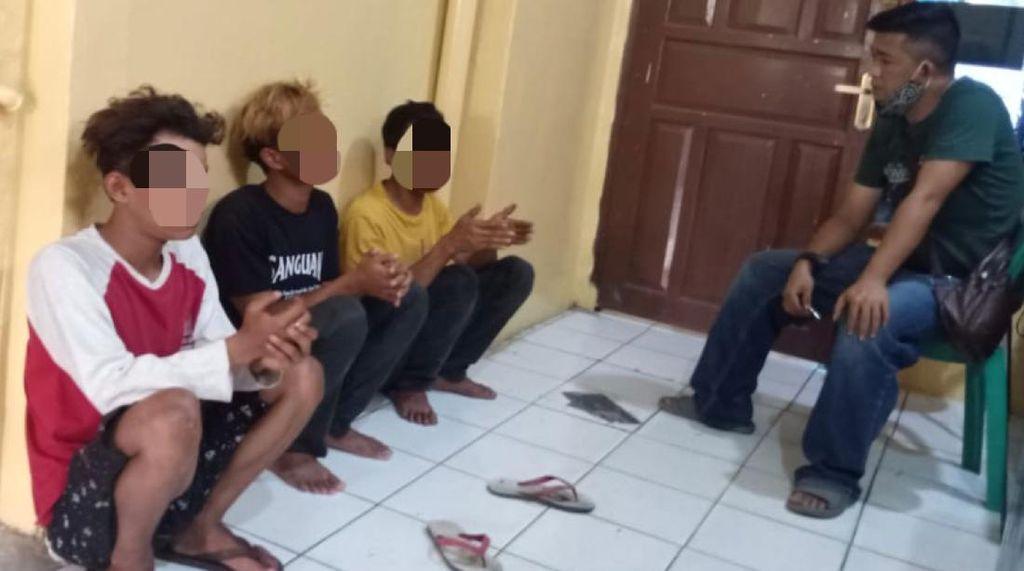 Jual Paksa Bendera-Buat Resah Warga, 3 Pria Sukabumi Ditangkap Polisi