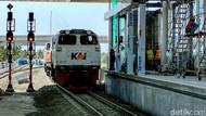 Progres Capai 98 Persen, Jalur Kereta Bandara YIA Beroperasi 17 Agustus