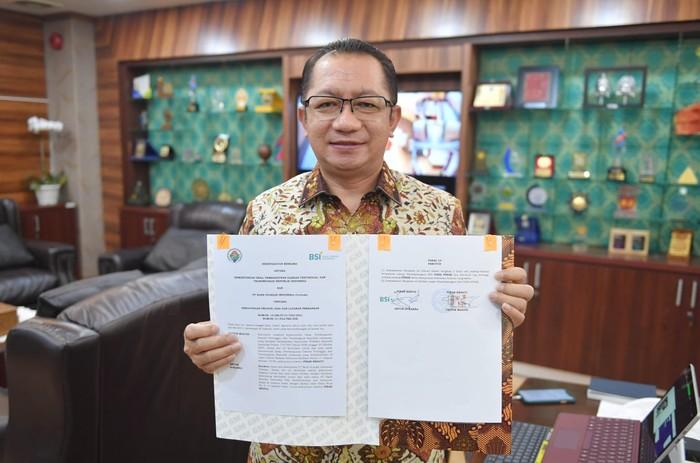 Sekjen Kemendes PDTT Taufik Madjid
