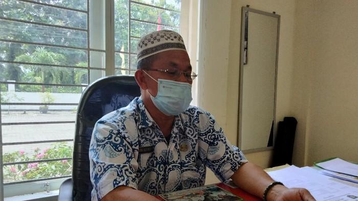 Sekretaris Dinas Kesehatan Kabupaten Asahan, Darma Halim Siregar. (Perdana Ramadhan / detikcom).