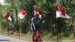 Sambut HUT RI, Bendera Merah Putih Hiasi Kabupaten Bandung