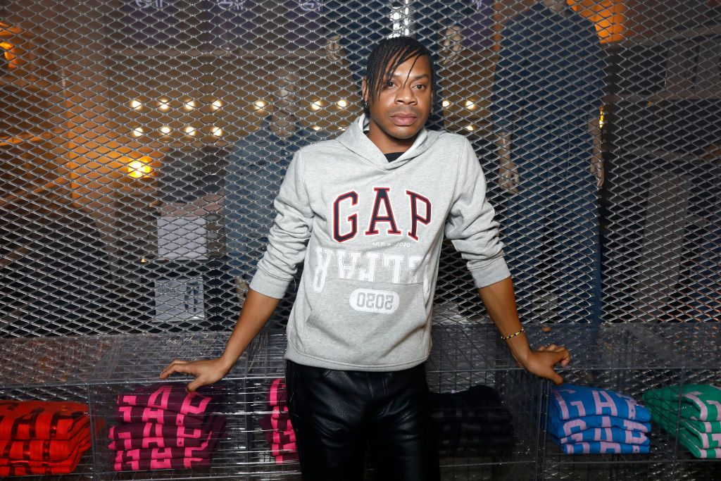 PARIS, FRANCE - JANUARY 16: Telfar Clemens attends the Gap X Telfar Party during the Menswear Fall/Winter 2020-2021 show as part of Paris Fashion Week on January 16, 2020 in Paris, France.  (Photo by Julien M. Hekimian/Getty Images for GAP)