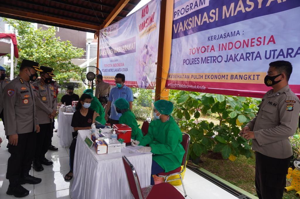 Vaksin gratis untuk masyarakat dari Indonesia
