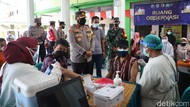 Kabupaten Mojokerto Genjot Vaksinasi Jelang HUT Kemerdekaan RI