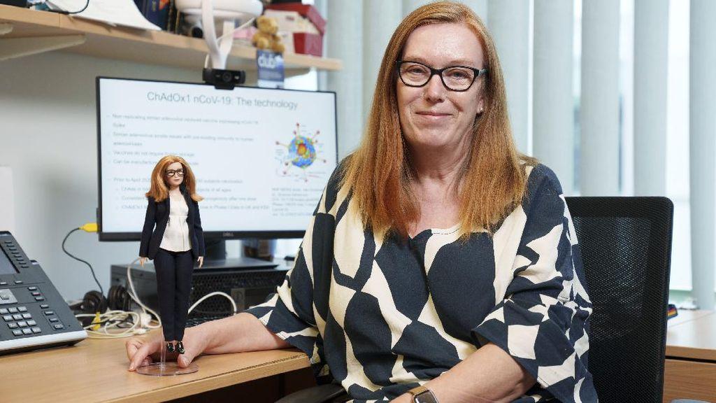Sosok Sarah Gilbert, Pembuat Vaksin AstraZeneca yang Diabadikan Jadi Barbie
