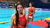 10 Potret Cantik Atlet Polo Air yang Foto Lamanya Diperdebatkan Netizen