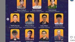 11 Mahasiswa Wakil Indonesia di Olimpiade Matematika Dunia, Anak UI-ITB