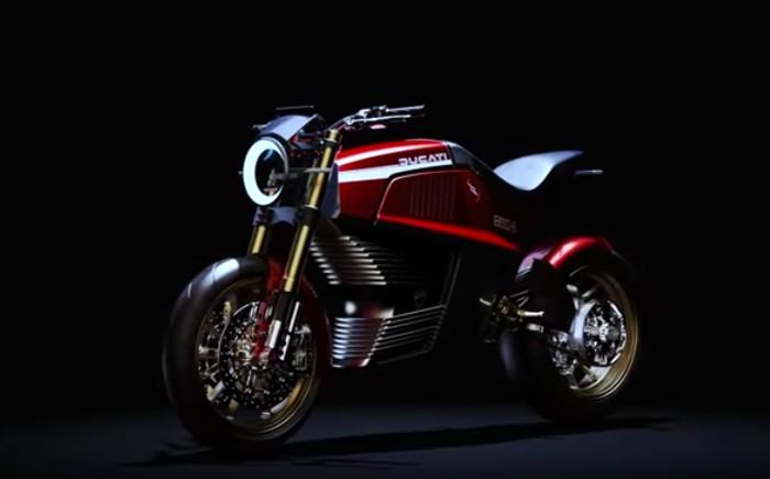 Ducati 860-E Concept karya Italdesign