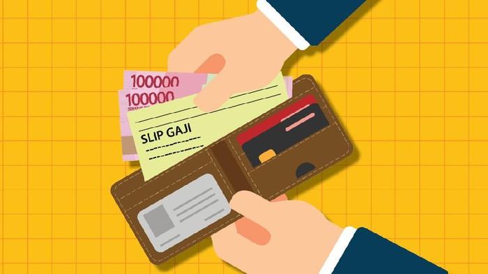 Infografis bantuan subsidi gaji untuk pegawai BUMN-honorer