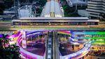 Warna-warni Skybridge MRT ASEAN-Halte Transjakarta CSW yang Dibanggakan Anies