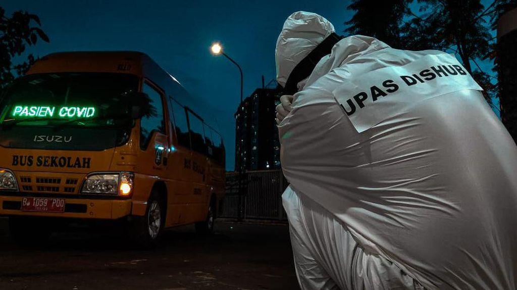 Cerita Sopir Bus Sekolah Pembawa Pasien COVID-19: Harus Pakai APD, AC Bus Dimatikan