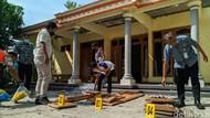 Kondisi Rumah yang Kena Ledakan Petasan Balon Udara di Ponorogo