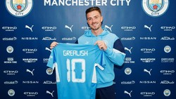 Man City Resmi Rekrut Jack Grealish