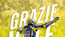 Grazie Valentino Rossi Membahana di Linimasa