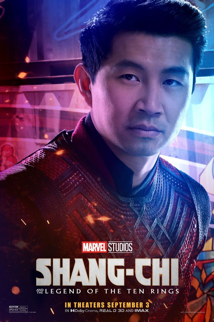 Poster baru Shang-Chi and the Legend of Ten Rings.