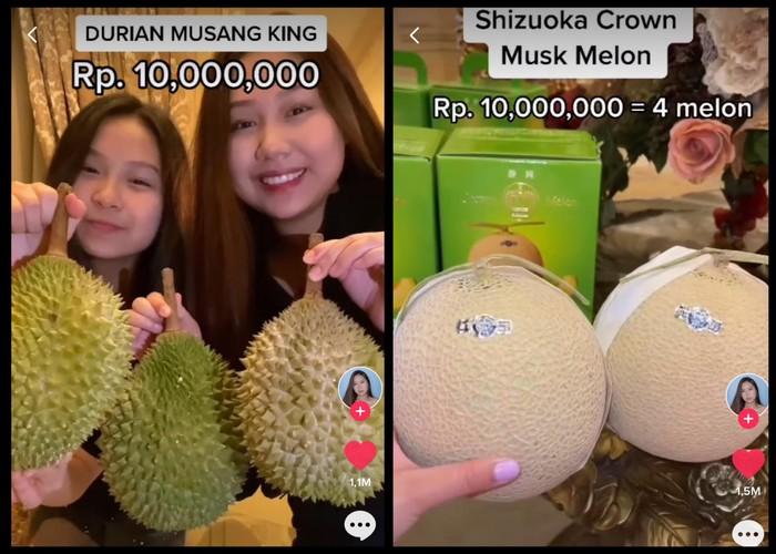 Sisca Kohl Cicip 5 Buah Sultan Jutaan Rupiah, Ada Melon Rp 10 Juta!